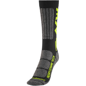 Northwave Husky Ceramic Tech 2 High Socks black/yellow fluo